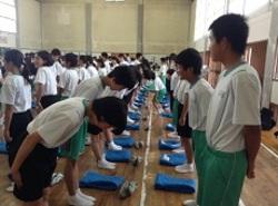 浜松市立浜名中学校で金融教室を開催しました!