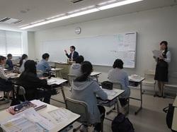 浜松情報専門学校にて金融教室を開催!
