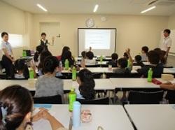 「親子エコ教室・親子でチャレンジ!信用金庫の仕事」を開催しました!